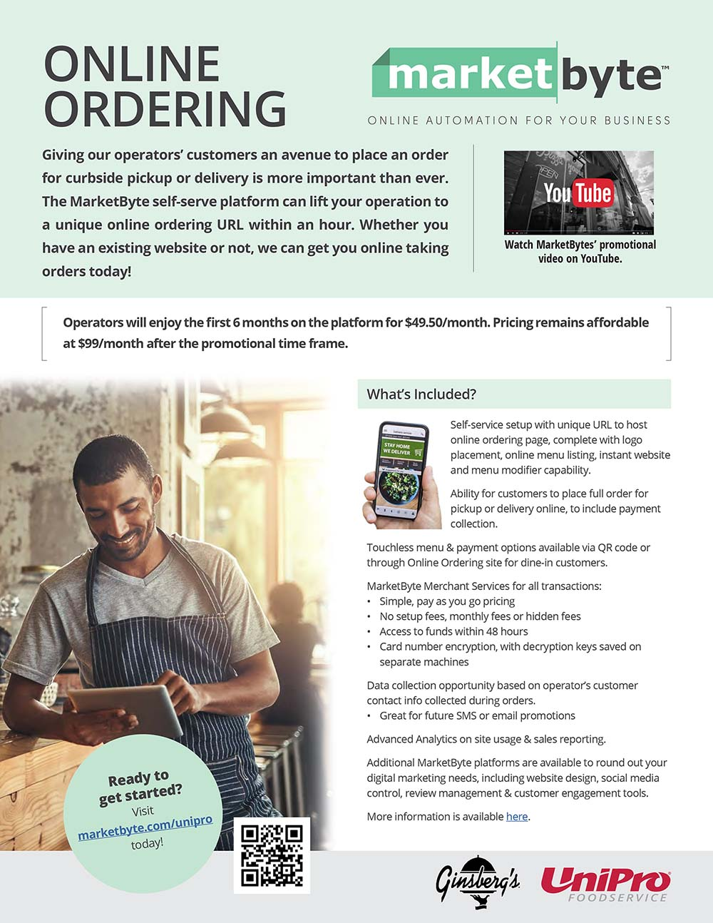 MarketByte online ordering program