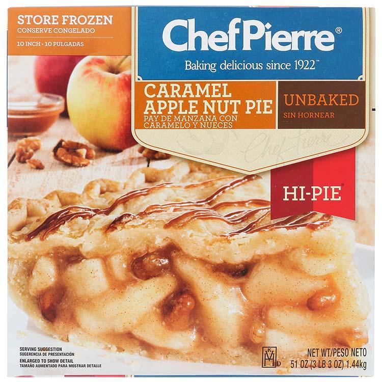 Chef Pierre Apple Carame Nut Hi Pie