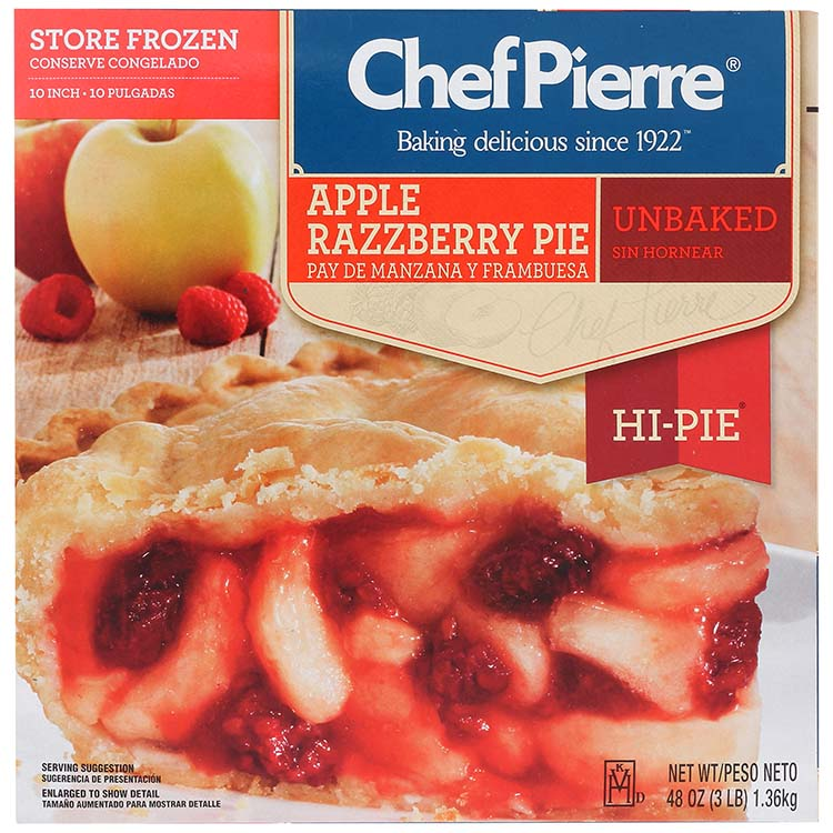Chef Pierre Apple Razzberry Pie