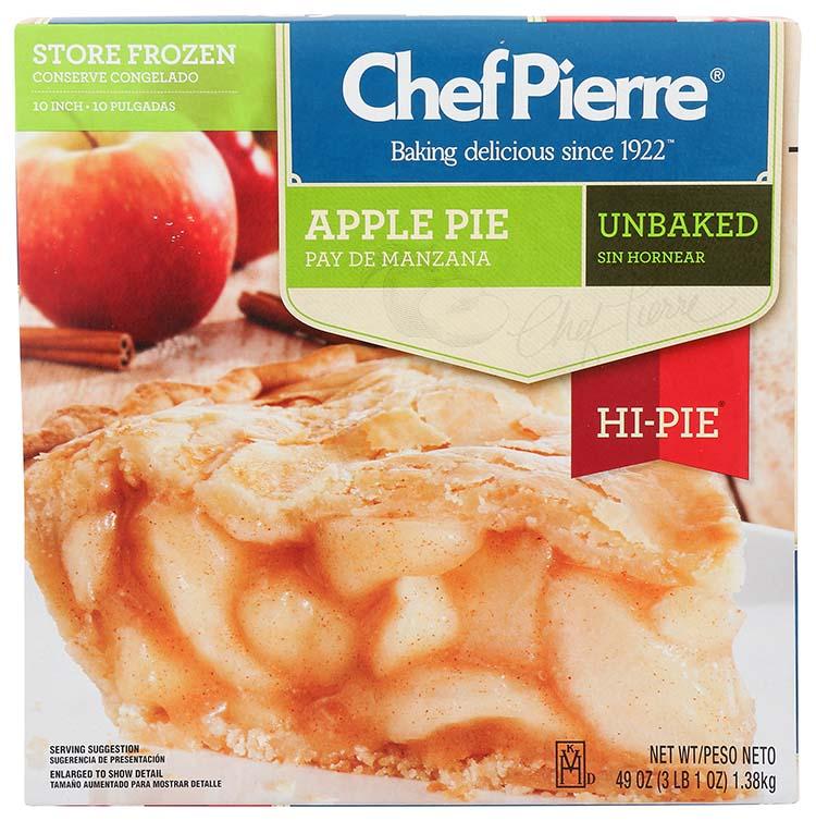 Chef Pierre Apple Hi Pie