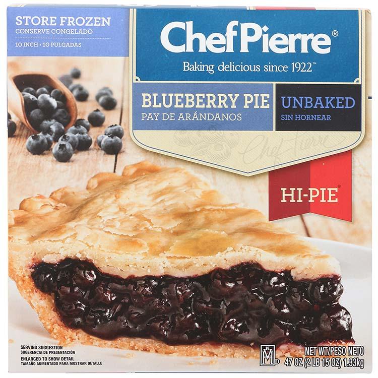 Chef Pierre Blueberry Hi Pie
