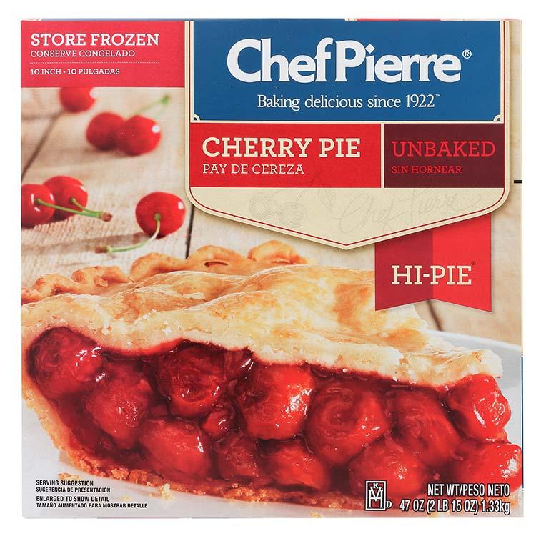 Chef Pierre Cherry Hi Pie
