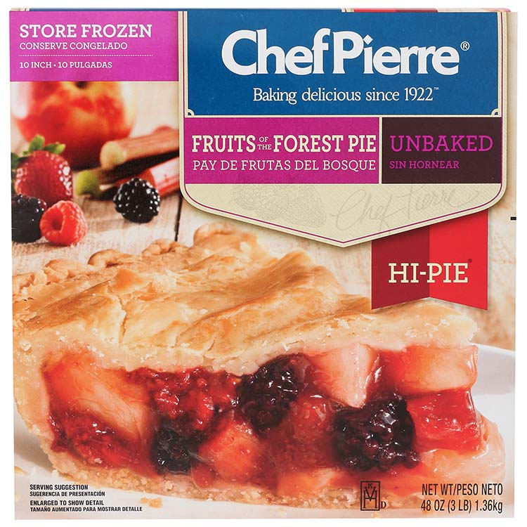 Chef Pierre Fruits Of The Forest Pie