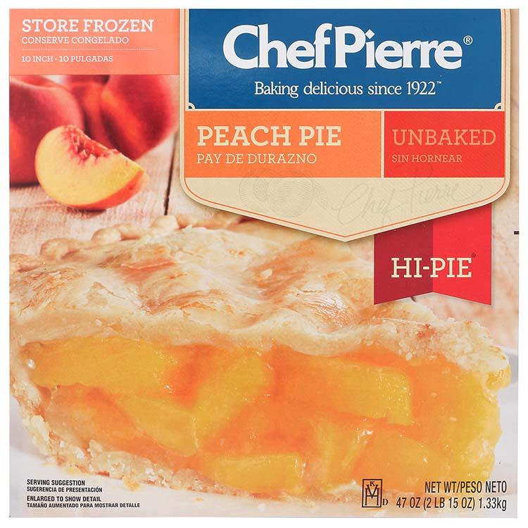 Chef Pierre Peach Hi Pie