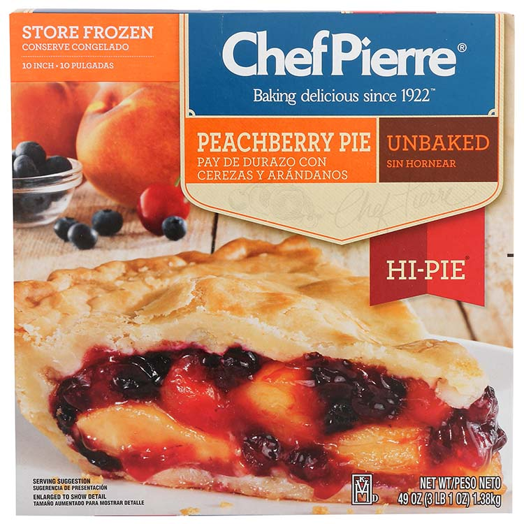 Chef Pierre Peachberry Hi Pie