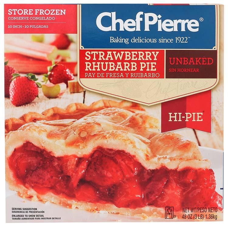 Chef Pierre Strawberry Rhubarb Hi Pie