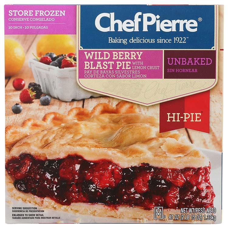 Chef Pierre Wildberry Hi Pie