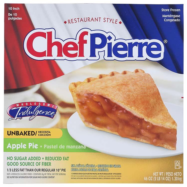 Chef Pierre No Sugar Added Apple Pie