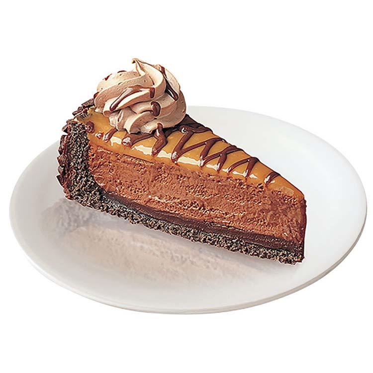 Chef Pierre Chocolate Malted Caramel Pie