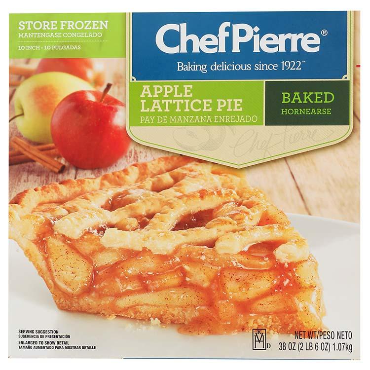 Chef Pierre Apple Lattice Pie