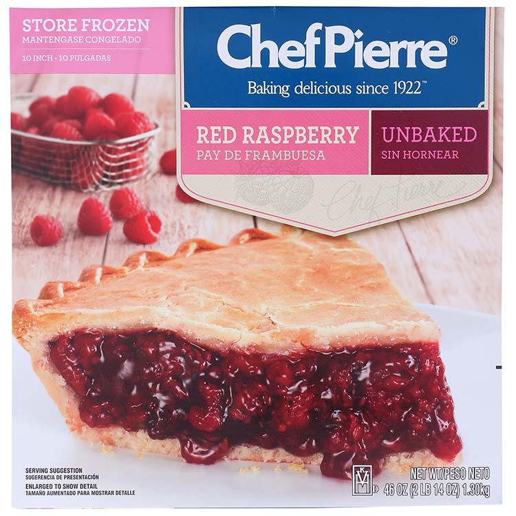 Chef Pierre Red Raspberry Pie
