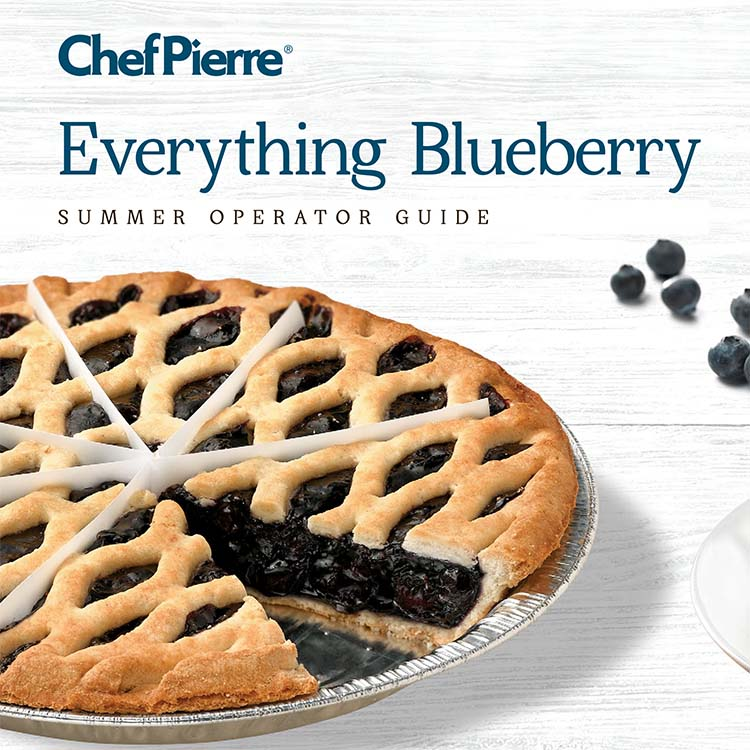 Chef PIerre Everything Blueberry