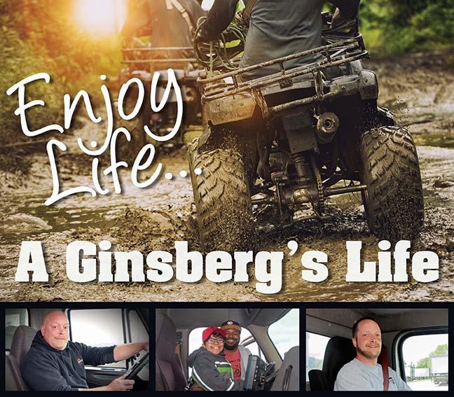Driver enjoying Life ATV