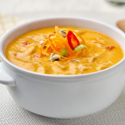Campbell's Soups Buffalo Chicken with Blue Cheese