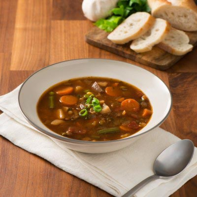 Campbell's Beef Barley Vegetable Soup