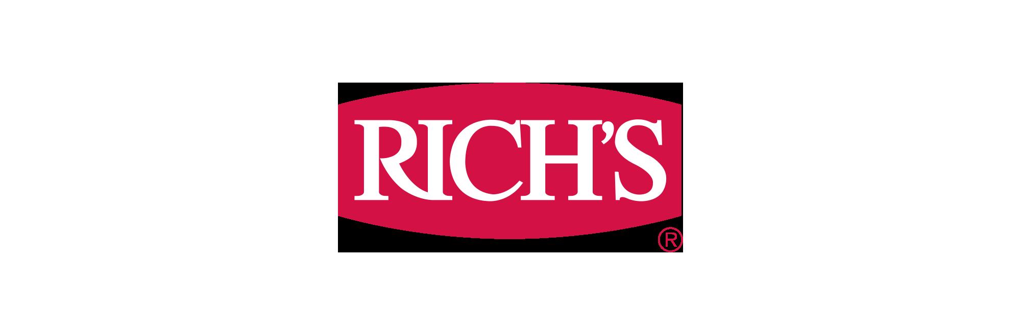 Rich's Cookie Dough Header Logo