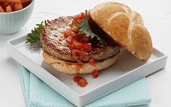Turkey Burger Cranberry Relish