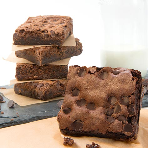 David's Chocolate Chip Brownie Gluten Free