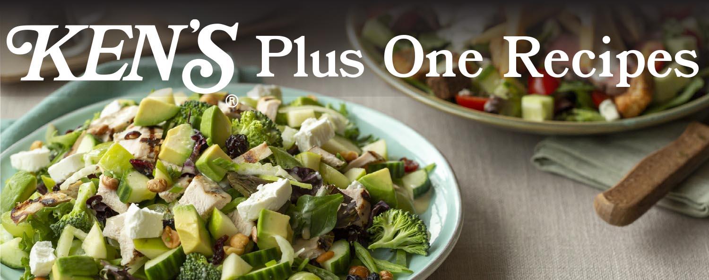 Ken's Plus One Recipes Header 2