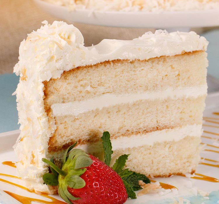 David's Coconut Cloud Cake