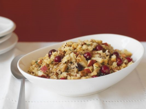 Apple Cranberry and Pecan Stuffing