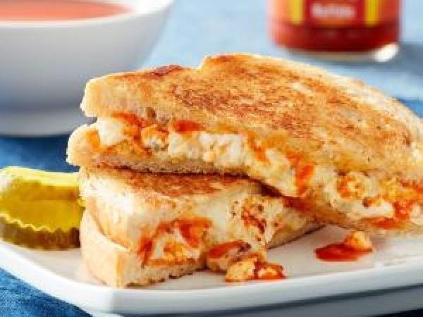 Buffalo Grilled Cheese Sandwic