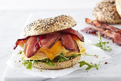 Bacon 1 Breakfast Sandwich