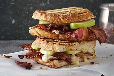 Hormel Bacon 1 Green Apple Grilled Panini