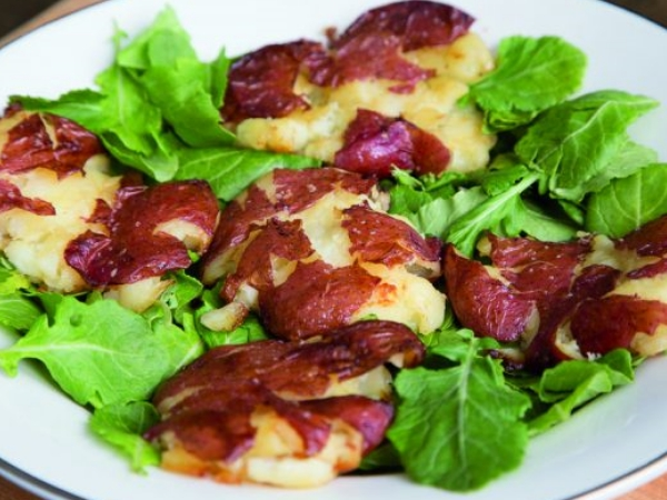 Italian Crushed Red Bliss Potatoes