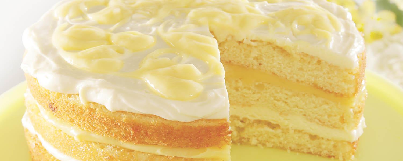 Sweet Street July Dessert Lemon Lemonade Cake
