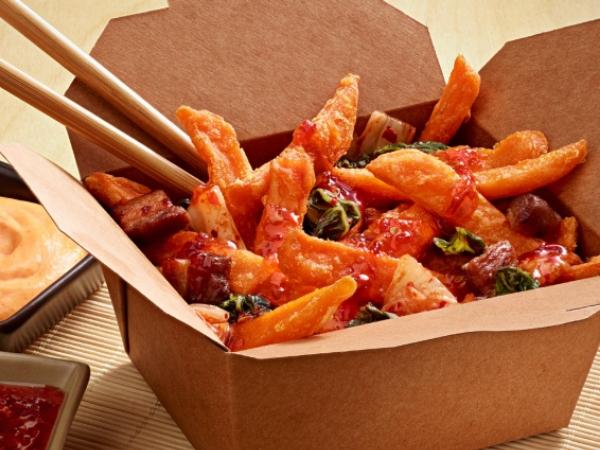 Kimchi Sweet Fries