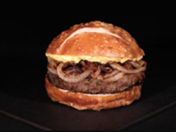 Pretzel Pub Burger