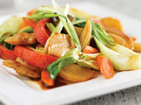Seven Treasures Clam and Vegetable Stir-Fry