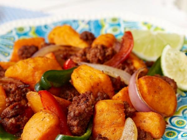 Sweet Chorizo Wedges