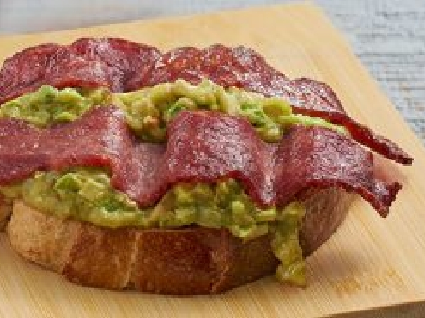 Turkey Bacon Avocado Toast