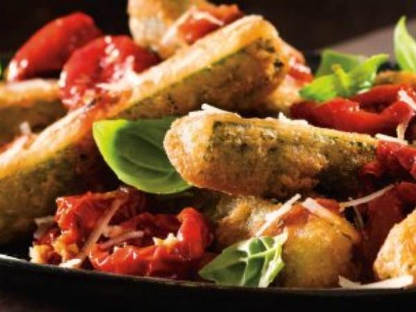 Tuscan Zucchini Sticks