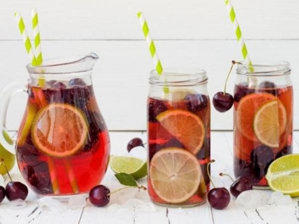 Twisted Cherry Lime Iced Tea