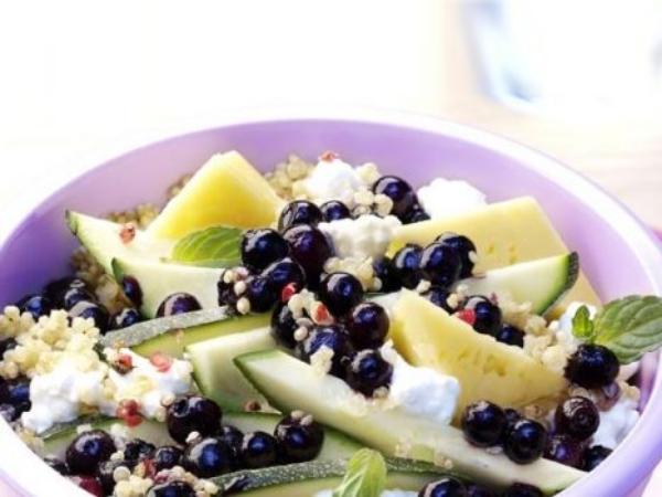 Wild Blueberry Quinoa Salad