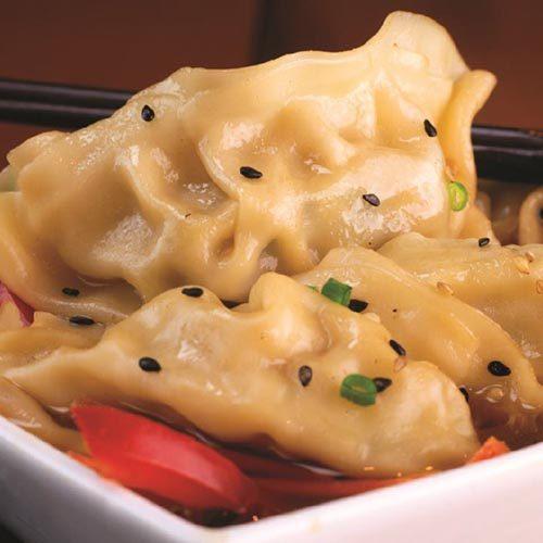 Spicy Garlic Dumpling