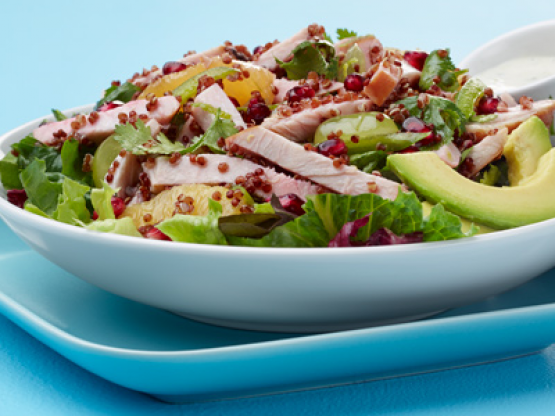 MESQUITE SMOKED TURKEY AND RED QUINOA SEDONA SALAD