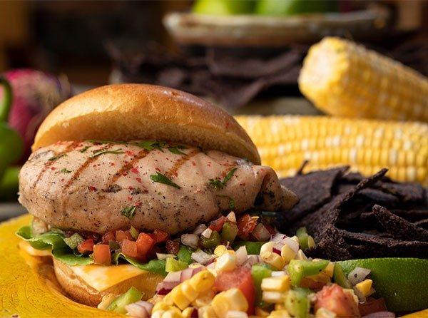 Wayne Farms Grilled Chicken Sandwich